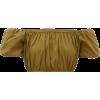 STAUD  Ant off-the-shoulder cropped top - Camicia senza maniche -