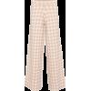 STAUD Avalanche high-rise wide pants - Spodnie Capri -