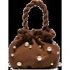 STAUD Grace pearl-embellished bag - Hand bag -