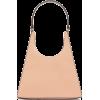 STAUD Rey contrast-handle leather bag - Hand bag -