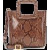STAUD Shirley Mini leather tote - Carteras -