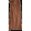 STAUD brown skirt - Skirts -