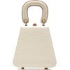 STAUD white croc effect handle bag - Hand bag -