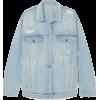 STELLA MCCARTNEY Denim jacket - Jacket - coats - $833.00  ~ £633.09