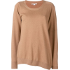 STELLA MCCARTNEY asymmetric loose-fit ju - Pullovers - $363.00