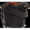 STELLA MCCARTNEY black bucket bag - Hand bag -
