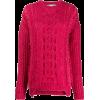 STELLA MCCARTNEY chunky cable knit sweat - Puloverji - $825.00  ~ 708.58€