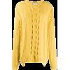 STELLA MCCARTNEY chunky cable knit sweat - Jerseys - $825.00  ~ 708.58€