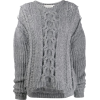 STELLA MCCARTNEY chunky cable knit sweat - Pullovers - $825.00