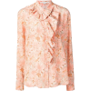 STELLA MCCARTNEY ruffled floral print sh - Long sleeves shirts -
