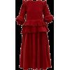 STORY MFG  Tulsi ruffled cotton-corduroy - sukienki -