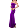 STRAPLESS LONG DESIGNER EVENING GOWN SEXY MAXI DRESS NEW WITH TAG ! Purple - Obleke - $49.99  ~ 42.94€