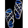 STRIPED SLIDE SANDALS - Sandale - $690.00  ~ 4.383,27kn