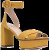 STUART WEITZMAN Carmina platform sandals - Sandals - $357.00