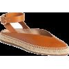 STUART WEITZMAN leather espadrille - Flats -
