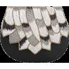 STUDIO ACCESSORIES Black Multi Color Bea - Schnalltaschen - $138.00  ~ 118.53€