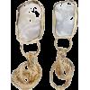 STVDIOIsabella gold-tone pearl earrings - Серьги - $216.04  ~ 185.55€