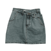 STYLENANDA Asymmetric Waist Mini Denim S - Röcke -