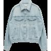 STYLENANDA Boxy Button-Up Jean Jacket - アウター -