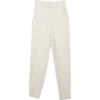 STYLENANDA Drawstring Waist Ribbed Pants - Leggins -
