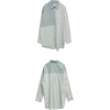 STYLENANDA Mixed Stripe Loose Shirt - Hemden - kurz -