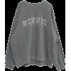 STYLENANDA SCENIC Applique Sweatshirt - Hemden - lang -