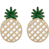 SUGARFIX by BaubleBar Pineapple Earrings - Earrings - $12.99