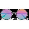 SUNDAY SOMEWHERE Yetti round-frame metal - Sunglasses - $290.00