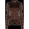 SUPRIYA LELE brown shirt - Srajce - kratke -