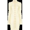 SUPRIYA LELE gape press-stud silk shirtd - Kleider -