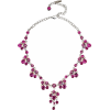 SWAROVSKI pink crystal necklace - Necklaces -