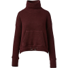 SWEATY BETTY dark red turtleneck - Pullovers -