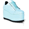 SWT N' SOUR GLITTER SNEAKERS - Platforms -