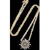 SYLVA & CIE18-karat gold diamond necklac - Necklaces - £3.13  ~ $4.11