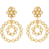 SYLVIA TOLEDANO  Pearl-embellished clip - Brincos -