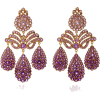 SYLVIE CORBELIN amethyst earrings - Earrings -