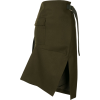 Sacai slit-detail midi skirt - Suknje -