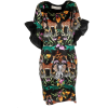 Safari Print Dress - Vestidos -