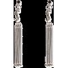 Saint Laurent Long YSL Tassel Earrings - Earrings -