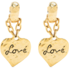 Saint Laurent Love Heart Chain Drop Earr - 耳环 -