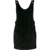 Saint Laurent - Suede dungaree dress - Vestiti - $2,094.00  ~ 1,798.51€