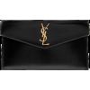 Saint Laurent Uptown Leather Pouch - Clutch bags -