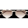 Saint Laurent heart-frame sunglasses - Occhiali da sole -