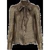 Saint Laurent tie neck blouse - Long sleeves shirts -