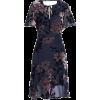 Sam Edelman Burnout Floral Dress - Dresses -