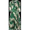 Samantha Sung bird print shirt dress - Dresses -