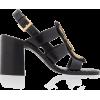 Sandals heels - Sandały -