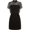 Sandro Layered Lace Dress - Dresses -
