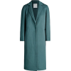 Sandro teal coat - Jacket - coats -