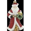 Santa Christmas Ornament - Items -